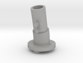 Thrustmaster tailpiece, 13° ang. 15°off. - M in Raw Aluminum