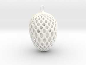 Little chicken in an egg in White Processed Versatile Plastic