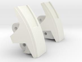 "Medic Knee Pads ""MTMTE"" Mk. II in White Natural Versatile Plastic"