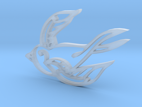Swallow in Smooth Fine Detail Plastic