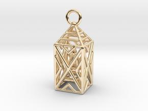 Obelisk Metal in 14K Yellow Gold
