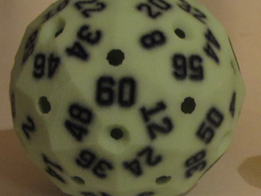 Hollow Green D60 in Full Color Sandstone