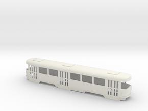 Tatra B4 0 Scale [body] in White Strong & Flexible: 1:48