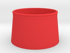Cone4 in Red Processed Versatile Plastic