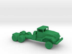 1/200 Scale M-54 Tractor in Green Strong & Flexible Polished