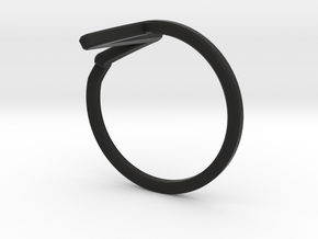 Heartbeat Ring in Black Strong & Flexible: 5 / 49
