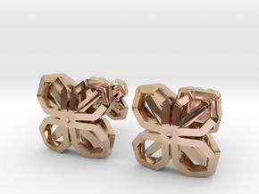 A-LINE CUFFLINX in 14k Rose Gold