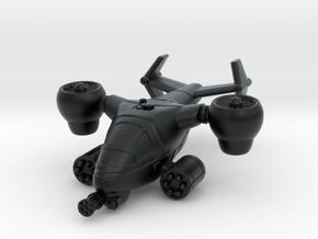 Terran Ground Attack VTOL in Black Hi-Def Acrylate
