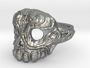 Dr. Killinger Ring Size 8 in Raw Silver