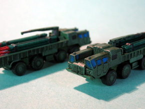 9T234 Smerch Ammo Truck 1/285 6mm in Smooth Fine Detail Plastic