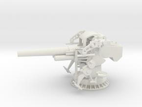 1/32 5 inch 25 GUN MOUNT MARK 40 in White Natural Versatile Plastic