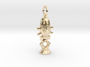 Horga'hn Pendant | Latinum Edition in 14k Gold Plated Brass