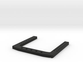 DJI Zenmuse 5D Adapter Mod in Black Natural Versatile Plastic