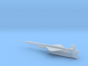 1/110 Scale X-7 Missile in Smooth Fine Detail Plastic