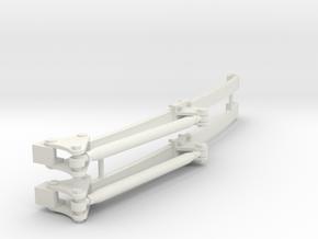 Monoleaf Calvert 2300 1/12 in White Natural Versatile Plastic