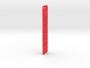 Lanister Bookmark in Red Strong & Flexible Polished: Medium