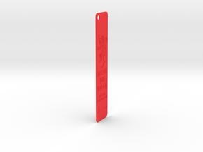 Lanister Bookmark in Red Processed Versatile Plastic: Medium