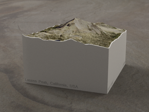 Lassen Peak, California, USA, 1:50000 Explorer in Full Color Sandstone