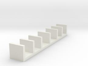 Miniature Wall Shelf Unit - IKEA in White Strong & Flexible: 1:12