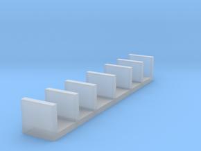 Miniature Wall Shelf Unit - IKEA in Smooth Fine Detail Plastic: 1:48