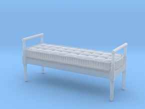 1:48 French Country Bench in Smooth Fine Detail Plastic