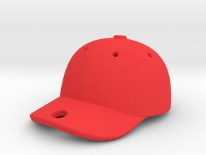 Cap 1611041651 in Red Processed Versatile Plastic