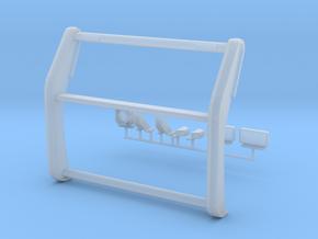 1/24 scale Interceptor Pushbar  w/ Lights in Smooth Fine Detail Plastic