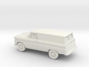 1/87 1960-61 Chevrolet Panel in White Strong & Flexible