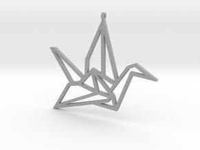 Crane Pendant L in Aluminum