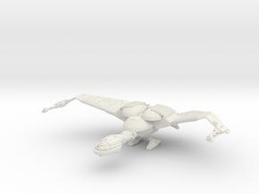 Bird Of Pray Cruiser  With Landing in White Natural Versatile Plastic