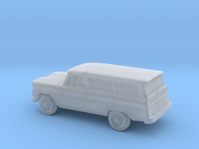 1/87 1960-61  Chevrolet Suburban in Frosted Ultra Detail