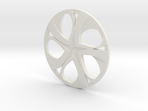 Wheel in White Strong & Flexible
