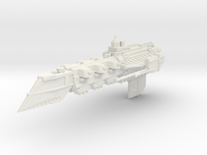 BFG Templar Light Cruiser  in White Natural Versatile Plastic