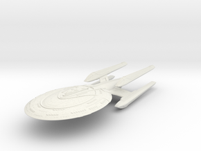 Quinn Class HvyCruiser in White Natural Versatile Plastic
