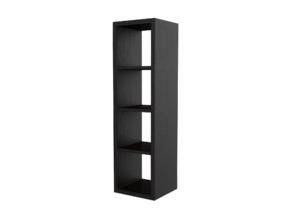 Miniature KALLAX Storage Shelf Unit - IKEA in White Strong & Flexible: 1:24