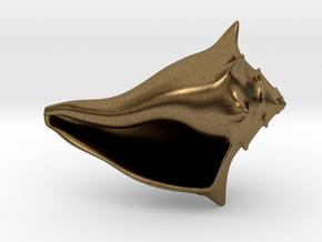 Whelk Model in Natural Bronze