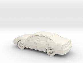 1/87 1999-04 Chevrolet Impala in White Natural Versatile Plastic