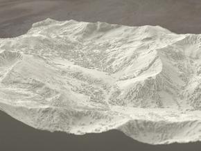 Alta Ski Area, Utah, USA, 1:25000 in Sandstone