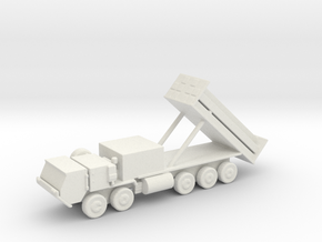 1/200 Scale M1120 HEMTT THAAD, launcher Errect in White Natural Versatile Plastic