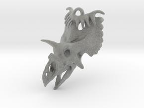 Kosmoceratops Ornament in Metallic Plastic