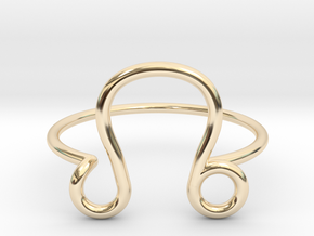 Leo  in 14K Yellow Gold: 6 / 51.5