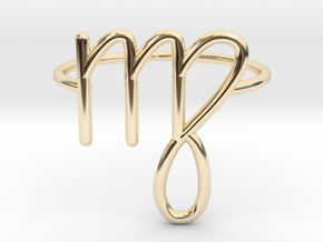 Virgo in 14K Gold: 6 / 51.5