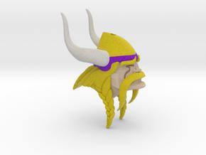 Minnesota Vikings (inspired) Ornament in Full Color Sandstone