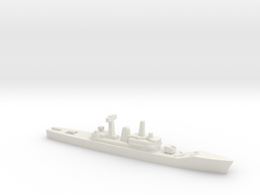Leander-class frigate, 1/1800 in White Natural Versatile Plastic
