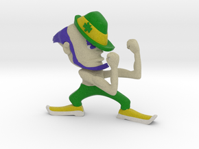 Fighting Irish Shirtless in Full Color Sandstone