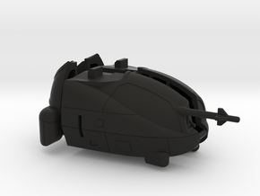 Naja Gunship Cockpit in Black Strong & Flexible