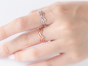 Mellow Ring in Polished Silver