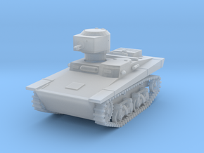 PV109D T37A Amphibious Tank (1/144) in Smoothest Fine Detail Plastic