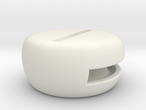 Speaker-1 in White Natural Versatile Plastic
