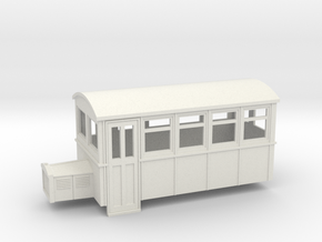 009 4 wheeled railbus version 2 in White Strong & Flexible